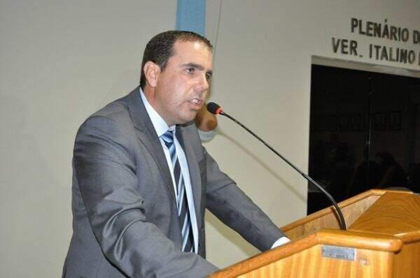 O prefeito de Figueirão, Rogério Rosalin (PSDB). (Foto: Da Hora Notícia)