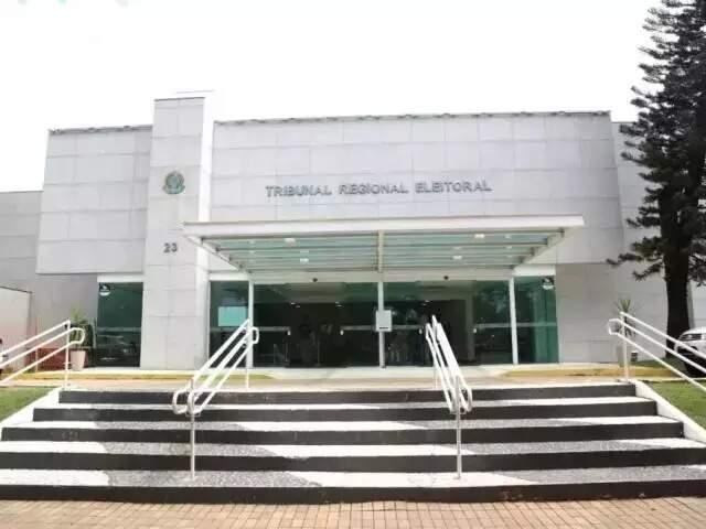 Sede do TRE-MS, onde são julgadas consultas e processos (Foto: Paulo Francis/Arquivo)