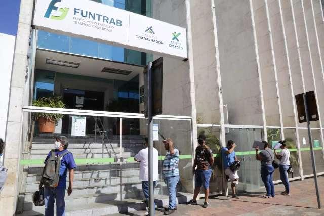 Funtrab tem 226 vagas de emprego em Campo Grande