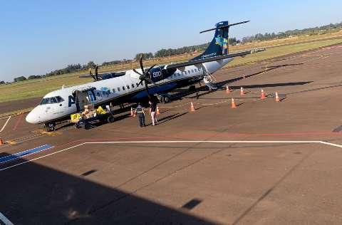 Primeiro voo da Azul em plena pandemia decola com 28 passageiros