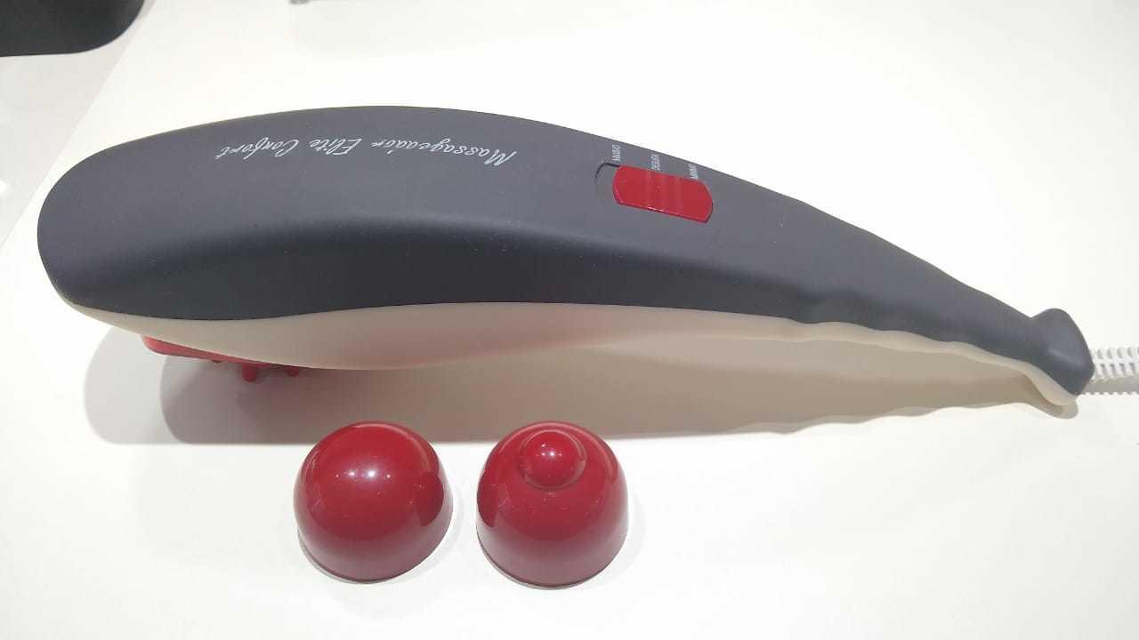 Brinde - massageador de mão - foto divulgação