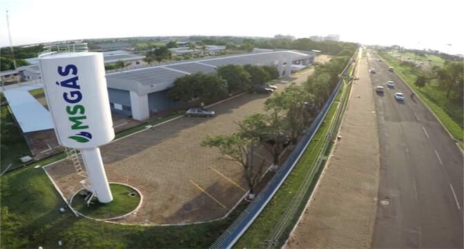 Sede da empresa MSGás, em Campo Grande (Foto: Divulgação)