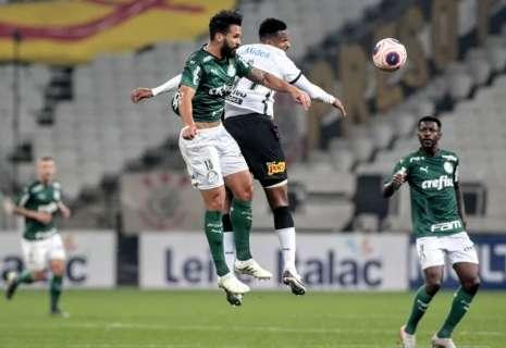 Palmeiras e Corinthians não saem do 0 a 0 no 1º jogo da final do Paulistão