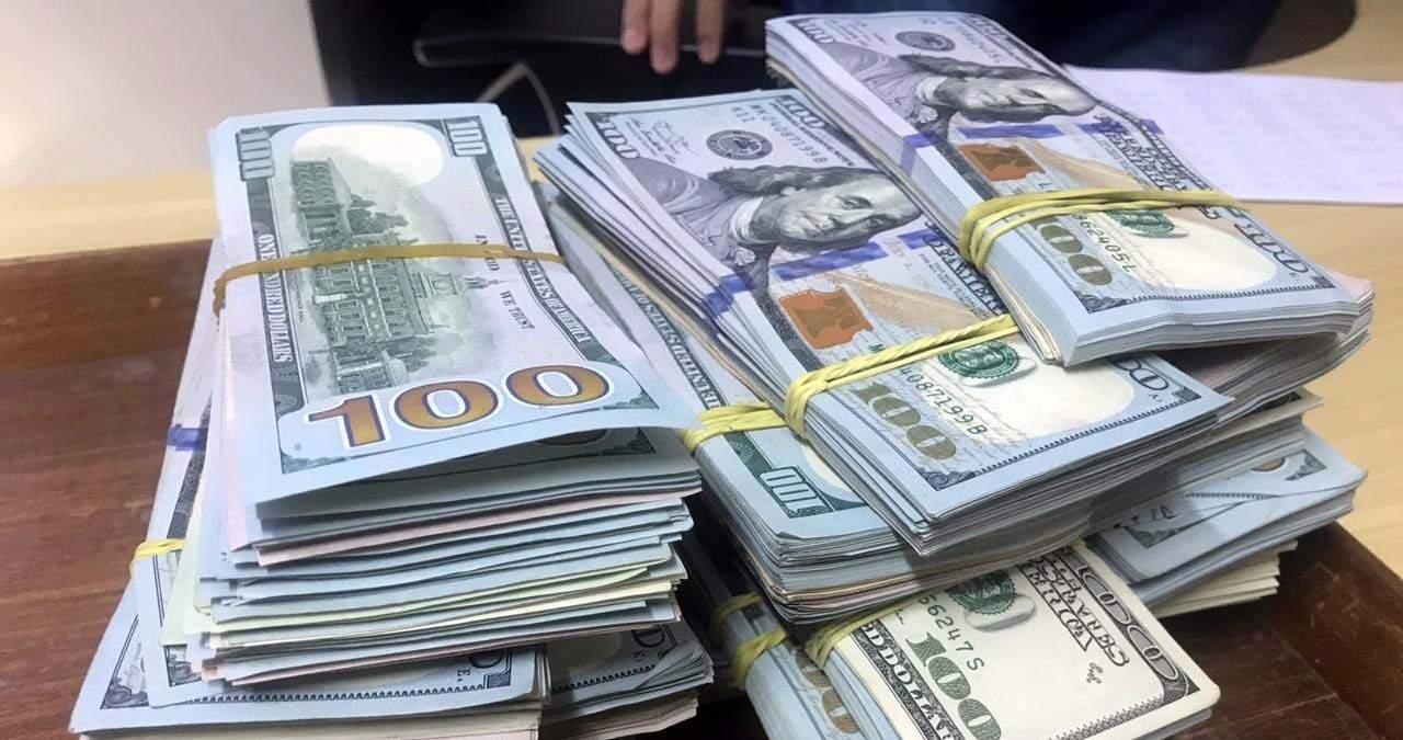 Dinheiro em espécie era levado por boliviano e peruano em rota clandestina da BR-262 (Foto: Divulgação)