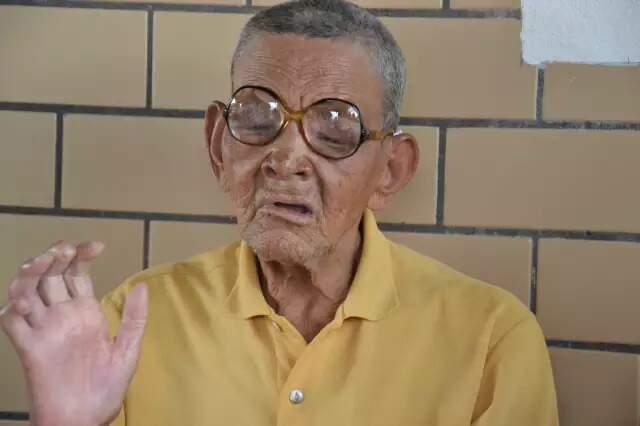 """José Garcia era o """"Gavião"""", que morou no local por 70 anos. (Foto: Simão Nogueira)"""
