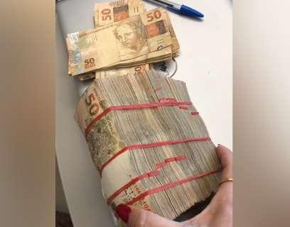 Operação contra o tráfico também apreendeu maços de dinheiro em Campo Grande