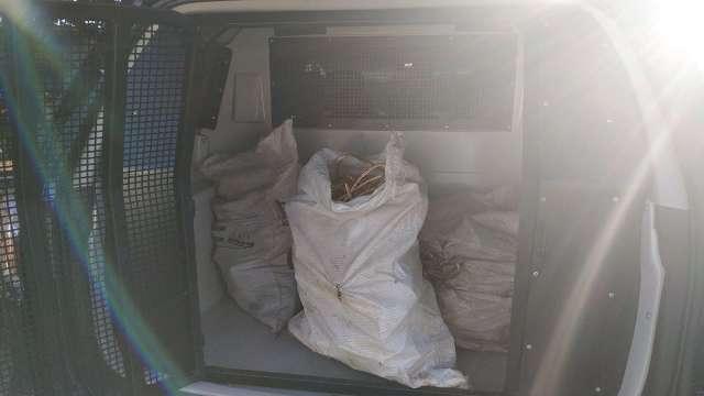 Polícia encontra trio que furtou R$ 60 mil em cabos e prende receptadores