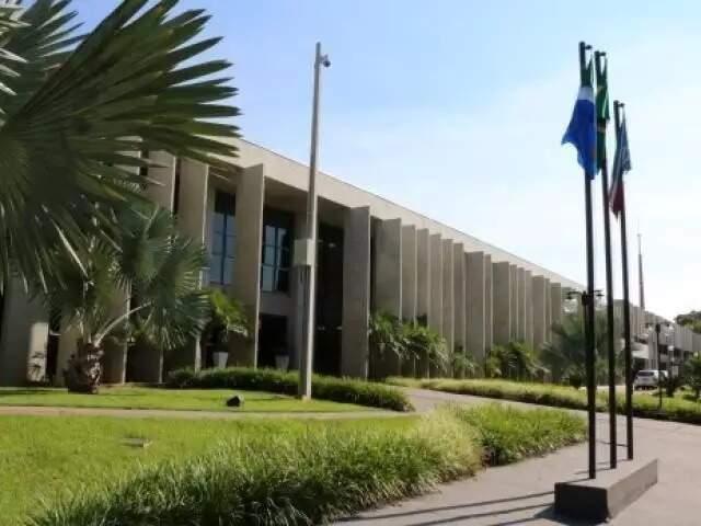 Sede do TJ-MS em Campo Grande (Foto: TJMS/Divulgação)