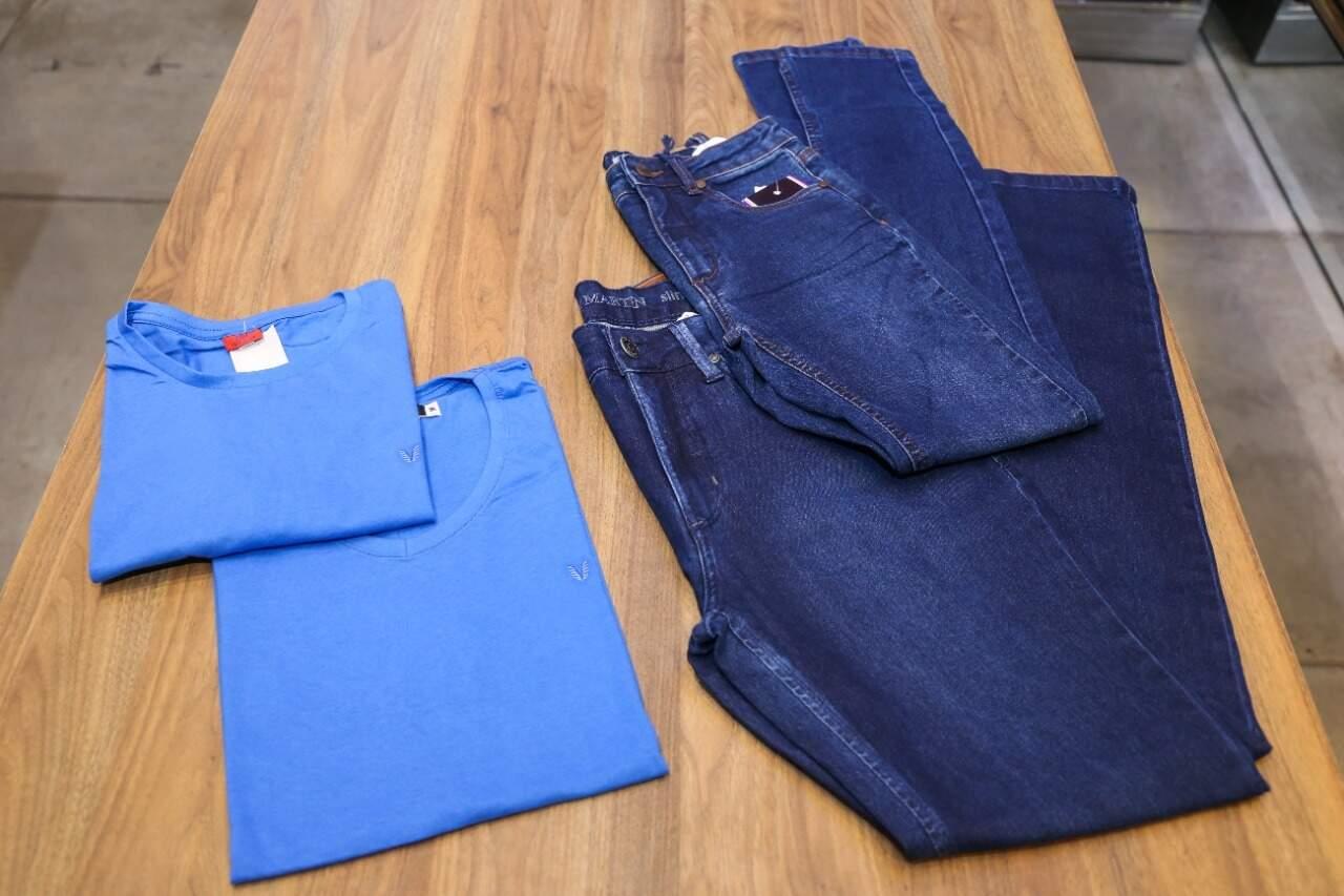 Diferentes looks para homens de classe e sofisticados com camisetas a partir de R$ 49,90 e calça jeans a partir de R$ 199 (Foto: Paulo Francis)