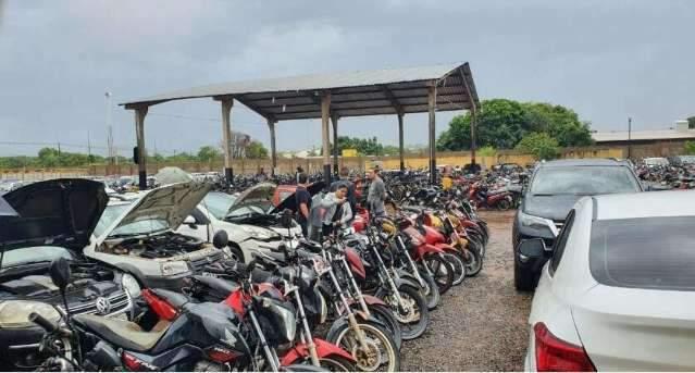 Governo veta uso de veículos apreendidos pelas forças de segurança