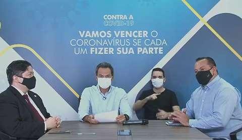 """Depois de sumiço das redes, prefeito explica: """"correria"""""""