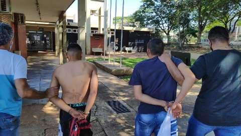 Polícia desvenda atentado e prende quadrilha que fez 15 roubos no ano