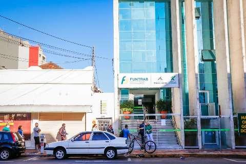 Semana termina com 258 vagas de emprego oferecidas pela Funtrab