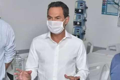 """No """"Dia D do lockdown"""", prefeito quer mostrar que pico da covid já passou"""