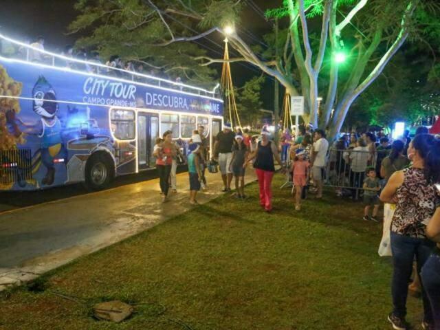 Última vez que City Tour rodou foi na Cidade do Natal 2019. (Foto: Arquivo/Campo Grande News/Paulo Francis)