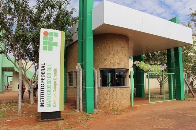 Campus do IFMS em Campo Grande (Foto: Divulgação)