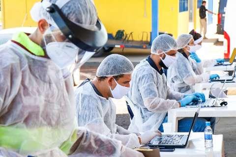 Região de Campo Grande tem pior semana em novos casos de covid-19