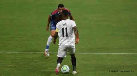Athletico-PR vence o Fortaleza por 2 a 0 na abertura do Brasileirão