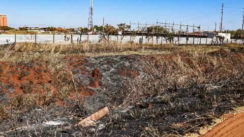 Campo Grande registrou 18 focos de incêndio em vegetação em 24 horas