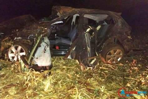 Filho de ex-capitão da Aldeia Amambai morre após veículo capotar na MS-386