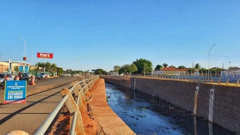 Treecho da Avenida Ernesto Geisel será interditado para retomada de obras de vitalização (Foto: Divulgação/PMCG)