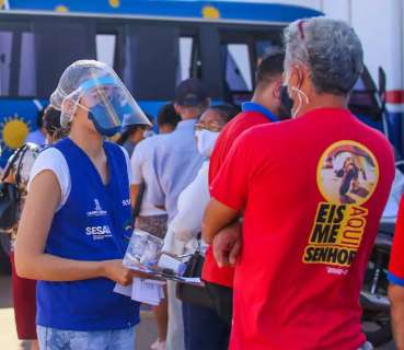 Ocupação de UTIs cai para 82% na Macrorregião da Capital, mas MS tem 14 óbitos