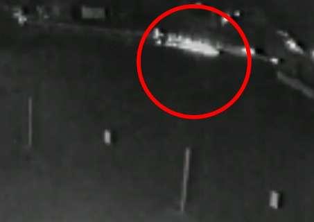 Câmera flagra atropelamento em racha entre Audi e Jetta