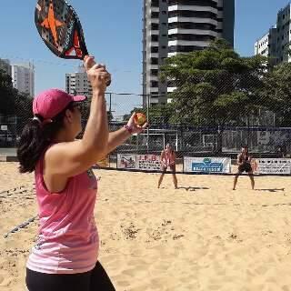 Etapa nacional de beach tennis marcada para Campo Grande é cancelada
