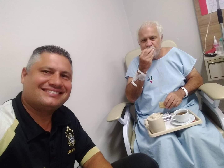 Debilitado por outras doenças, Luiz sempre precisava de atendimento médico. (Foto: Arquivo Pessoal)