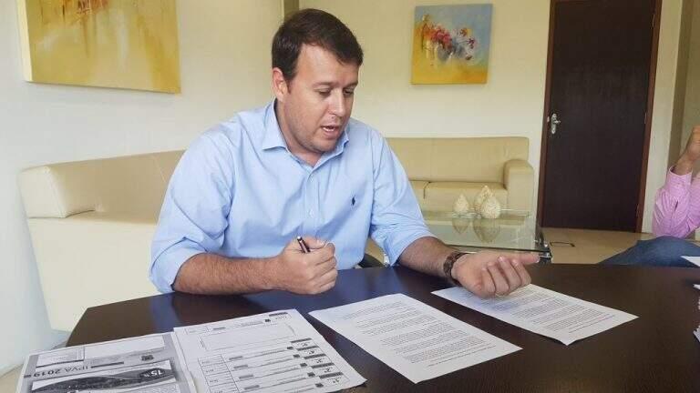 O secretário de Estado de Fazenda, Felipe Mattos (Foto: Divulgação/Sefaz)
