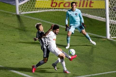 Bragantino e Botafogo não saem do empate em 1 a 1 no Brasileirão