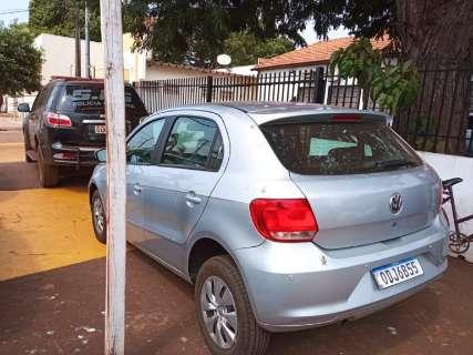 PRF apreende carro roubado com 331 kg de maconha com destino à Capital