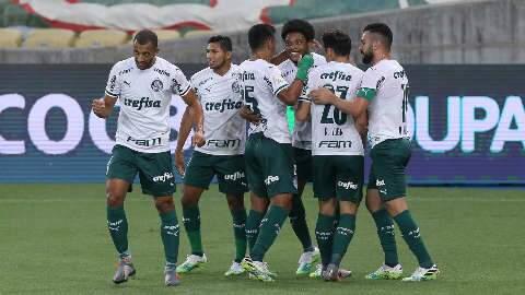 Palmeiras sai na frente, mas Fluminense alcança empate de 1 a 1 no Maracanã