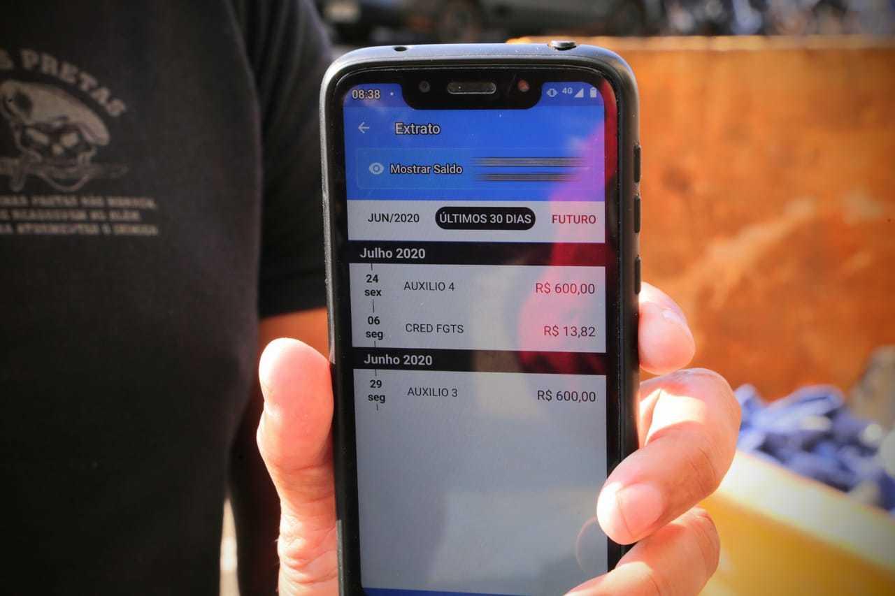 Auxílio será creditado em conta poupança digital para os nascidos em julho. (Foto: Kísie Ainoã)