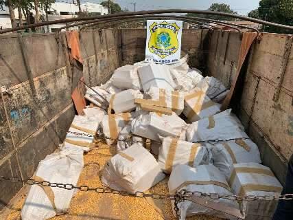 Por R$ 50 mil, caminhoneiro levava três toneladas de maconha para SP