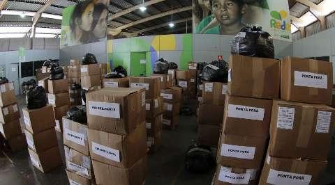 Governo inicia entrega de 80 mil cobertores para ajudar famílias carentes