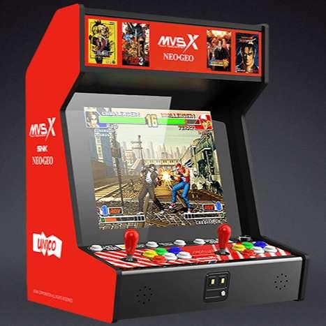 Arcade MVSX com clássicos da SNK foi anunciado e é lindo