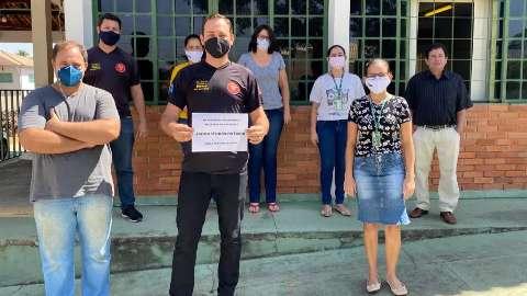 Servidores do Detran protestam contra terceirização da vistoria veicular