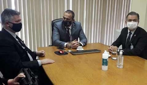Em reunião, secretário diz que R$ 39 milhões à fronteira serão mantidos