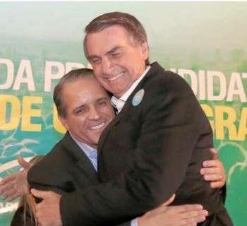 """Fiel escudeiro de Bolsonaro, David não verá o """"chefe"""" em MS"""