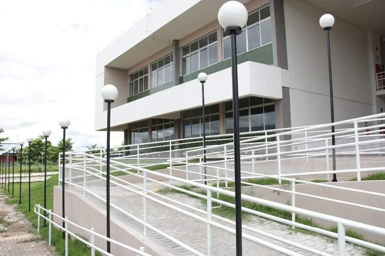 Campus do IFMS em Corumbá. (Foto: Divulgação)