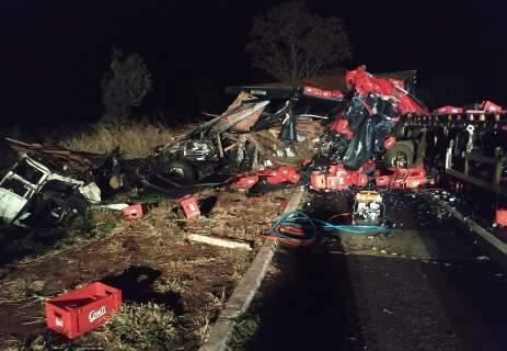 Motorista de carreta morto em acidente tinha 70 anos e morava em Ponta Porã