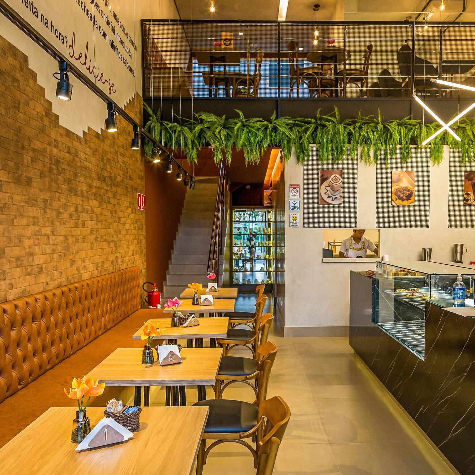 Espaço da Duo Café em Campo Grande. (Foto: Amanda De Marchi)