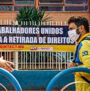 Após fim de acordo, funcionários dos Correios em MS aderem à greve nacional