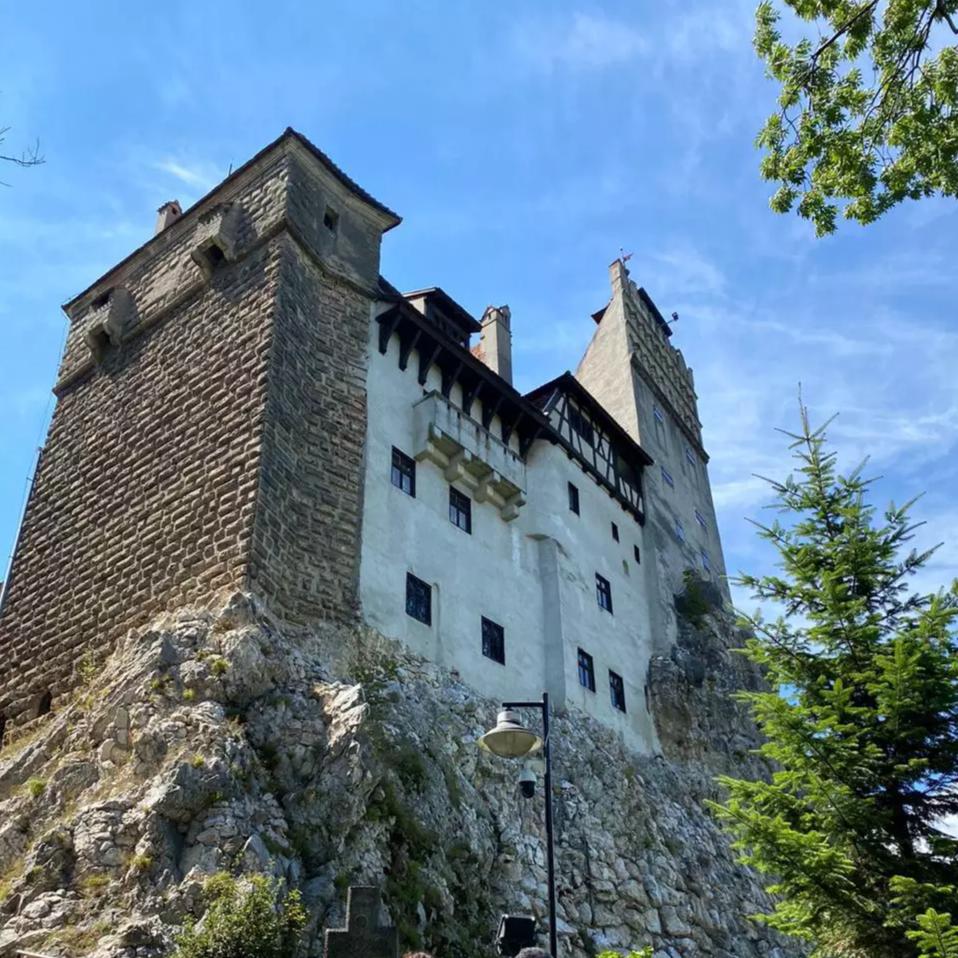 Castelo do Conde Vlad III na Transilvânia (Foto: Arquivo Pessoal)