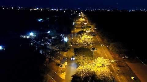 Com investimento de R$ 1 milhão, Parque dos Poderes vai ganhar nova iluminação