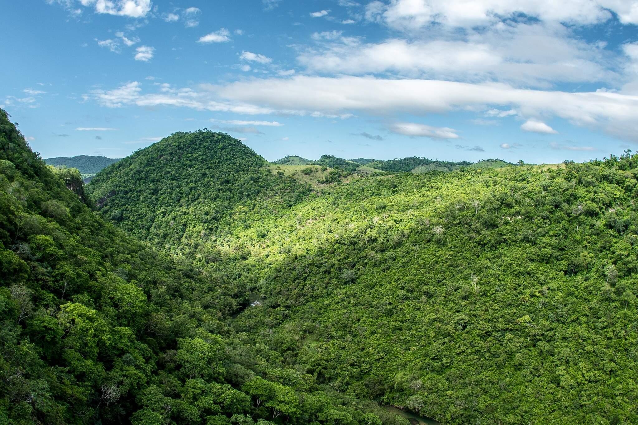 Criado há 20 anos, o Parque Nacional da Serra da Bodoquena, em Mato Grosso do Sul, só depende de infraestrutura de recepção e segurança para receber turistas (Foto: Reprodução)
