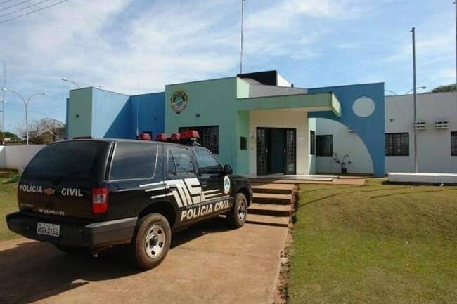 Suspeito foi preso nesta manhã pelas equipes da Delegacia de Polícia Civil de Amambai (Foto: Amabai Notícias)