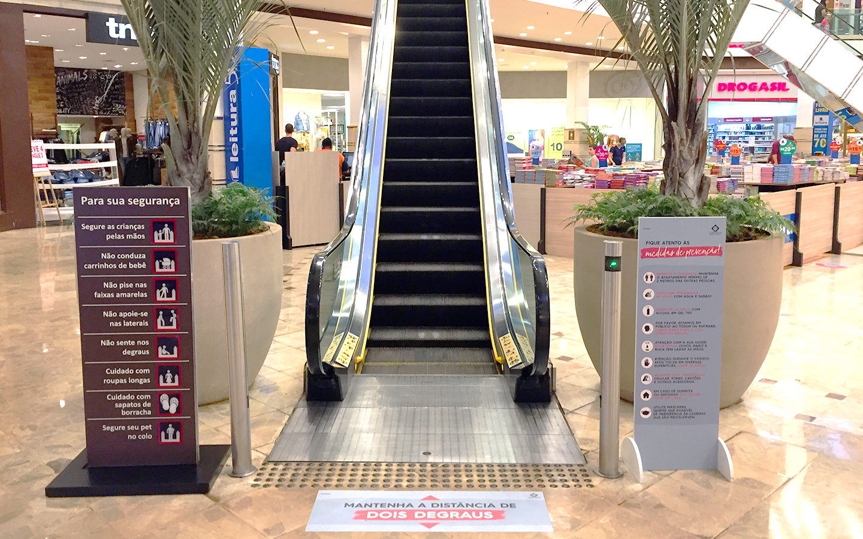 Shopping Campo Grande segue todas as normas de higiene e segurança da OMS e do Ministério da Saúde. Foto Divulgação
