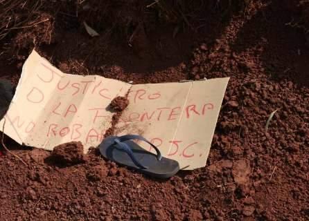 """""""Justiceiros da Fronteira"""" voltam à ativa e rapaz é executado a tiros"""